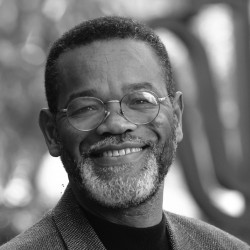 Fuller Seminary's School of Psychology Dean Emeritus Winston Gooden in a black and white portrait