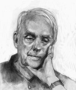 Illustration of Frederick Buechner