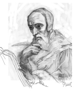 Illustration of John Calvin