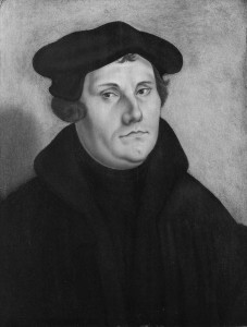 Illustration of theologian Martin Luther