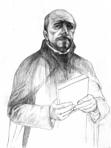 Illustration of St. Ignatius Loyola