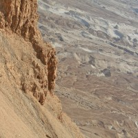 Fuller Seminary students making a hike under the hot desert sun
