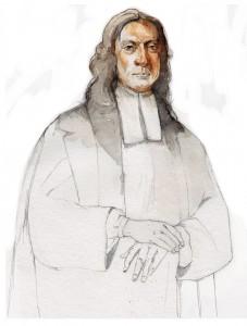 Illustration of theologian John Wesley