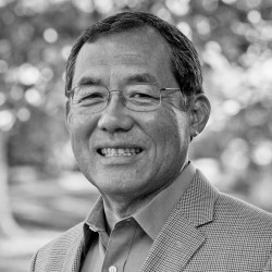 Portrait of Fuller Seminary dean of students Steve Yamaguchi