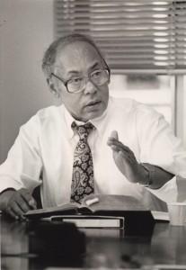 Fuller Seminary faculty member William E. Pannell