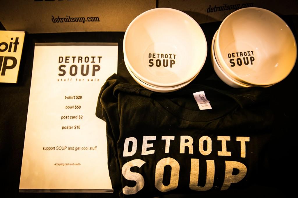 Detroit Soup gear