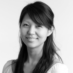 Portrait of former Fuller staff member Sharon Hong