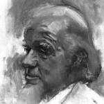 Francis Schaeffer Illustration by Klitsie