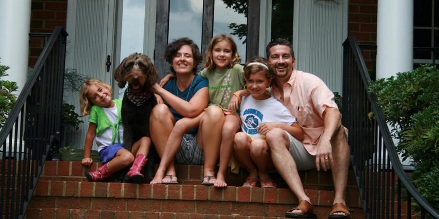 Fuller Seminary grad Heath Greene and his family