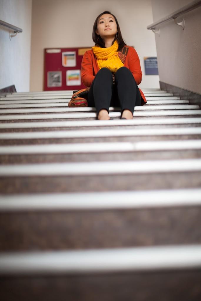 Fuller Seminary student Josi Hwang in Pasadena