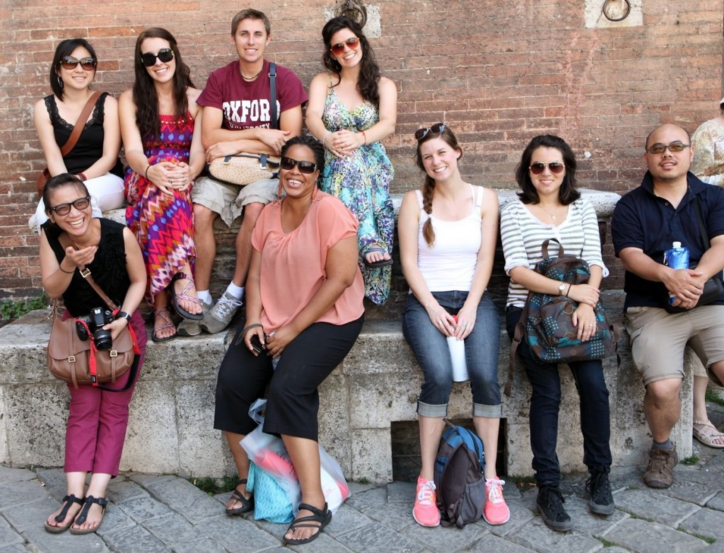 Fuller Seminary students, alums, and staff enjoy their time in Orvieto, Italy