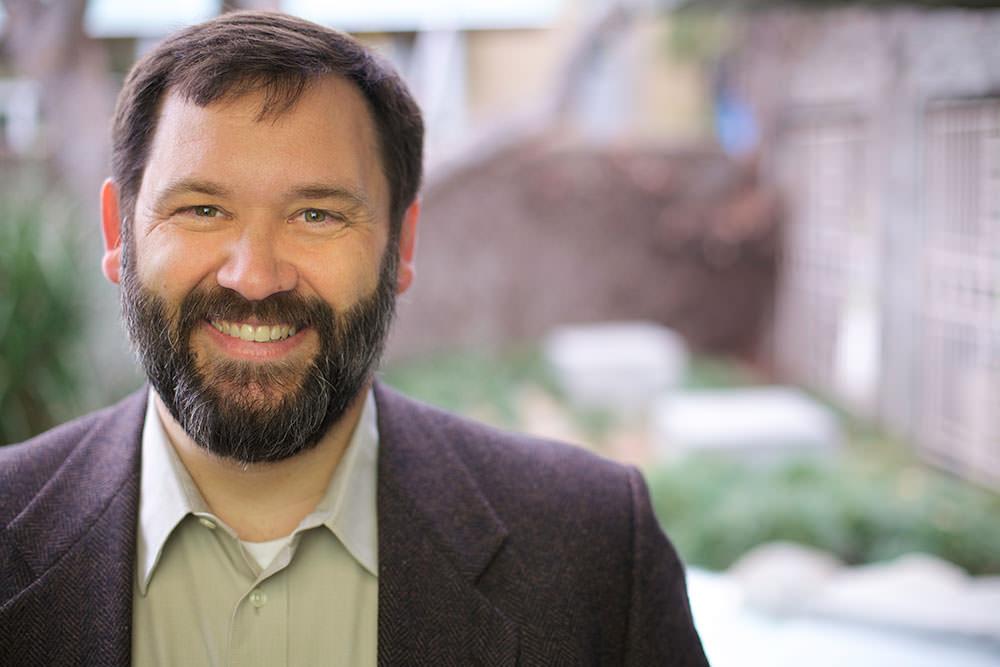 Portrait of Fuller Seminary student Shane McNary