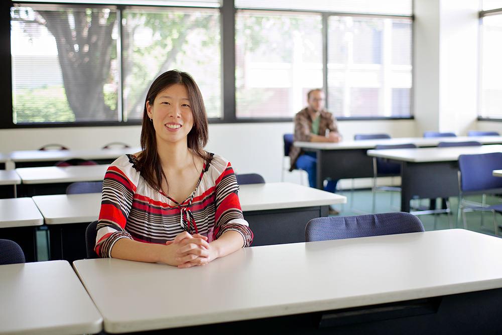 Portrait of Fuller Seminary alum Rachel Yu