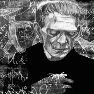 Frankenstein illustration by Denise Klitsie