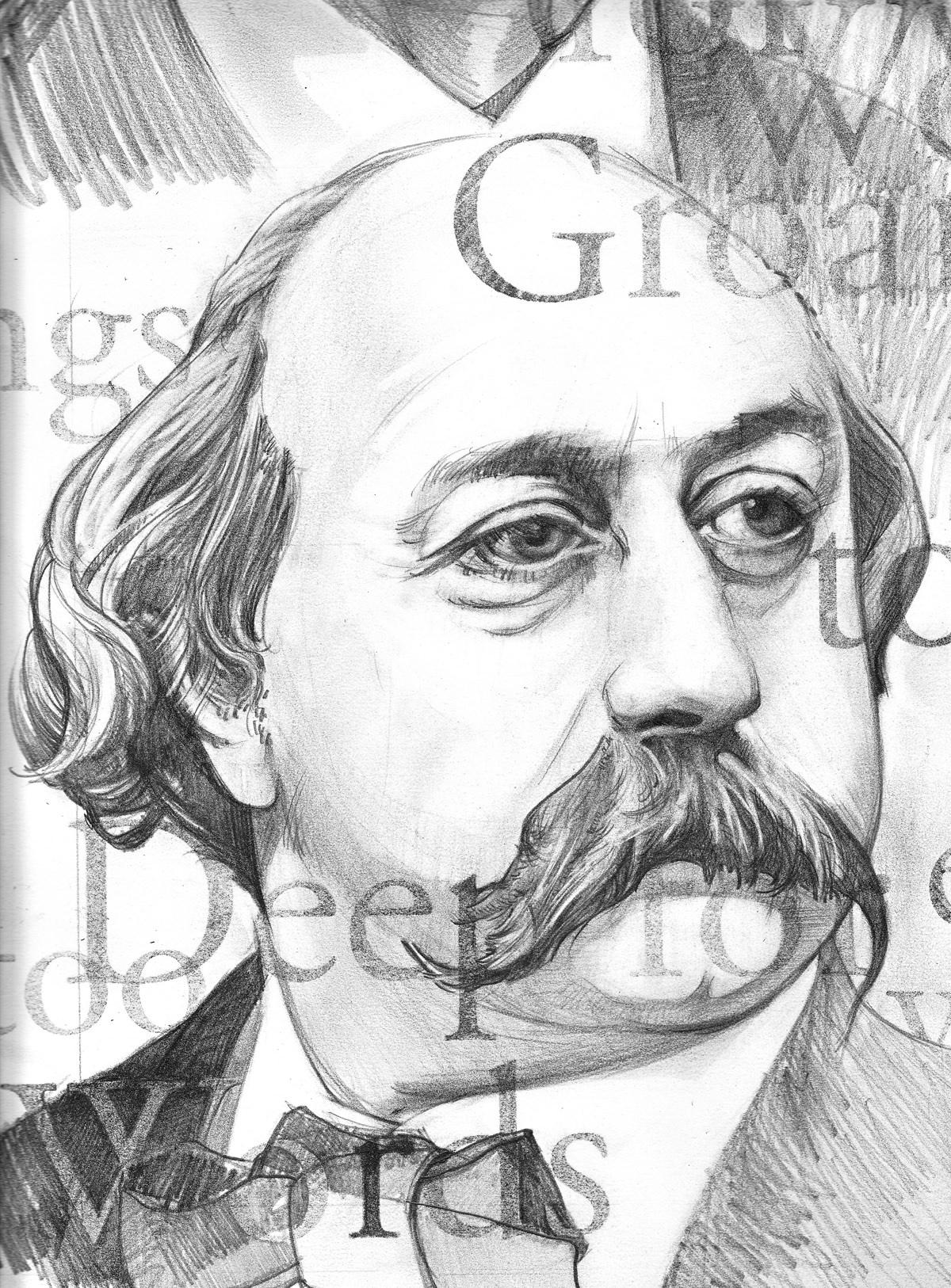 Flaubert-illustration-by-D.Klitsie