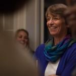 Fuller Seminary Professor of New Testament Marianne Meye Thompson at FULLER magazine's Story Table