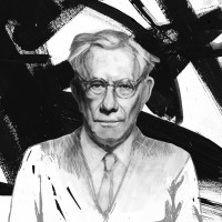 Paul Tillich illustration by D. Klitsie