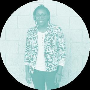 Portrait of Fuller Seminary student Dei Selah Thompson for FULLER magazine