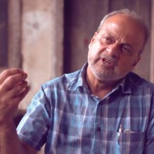 Portrait of Fuller Seminary alum Salim Munayer for FULLER magazine