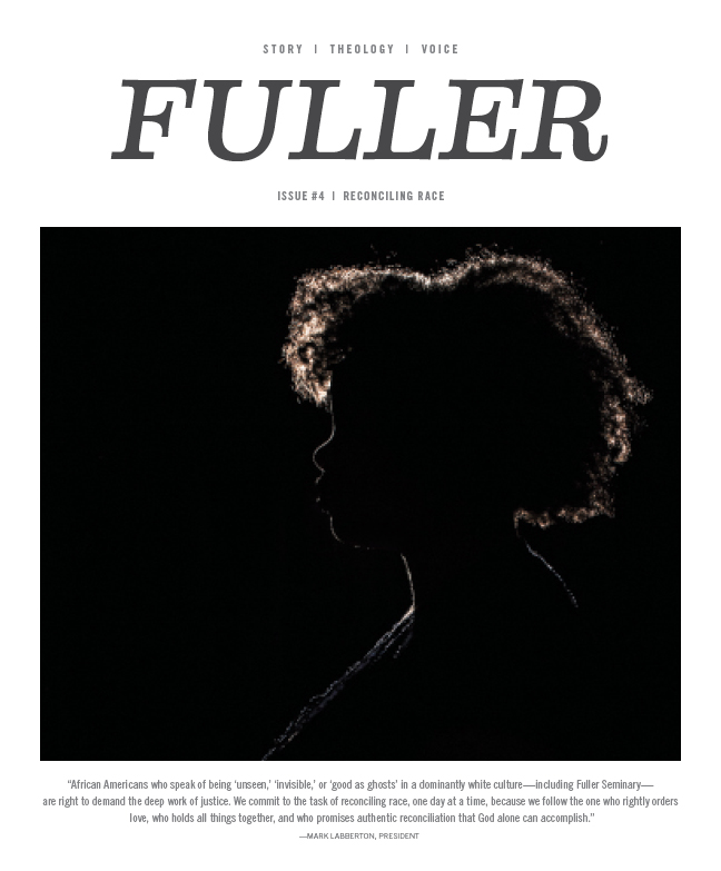 The cover of FULLER magazine Issue Four: Reconciling Race