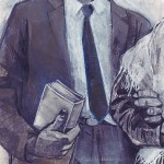 Illustration of Bill Pannell by Denise Louise Klitsie for FULLER magazine