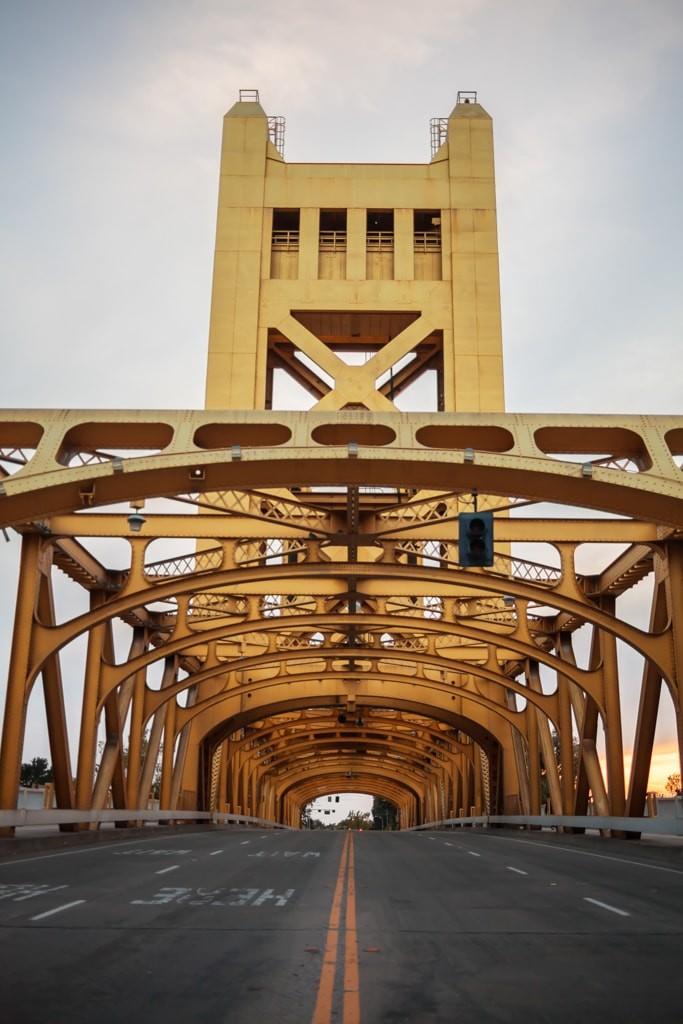 Sacramento's Tower Bridge for FULLER magazine