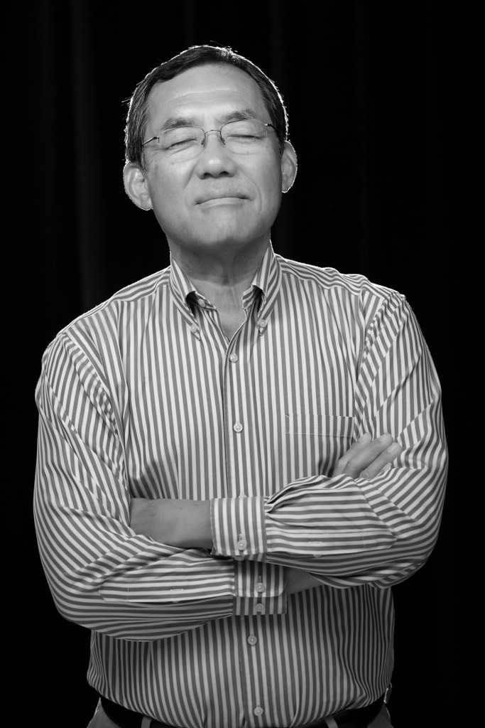 Portrait of Fuller Seminary dean of students Steve Yamaguchi for FULLER magazine