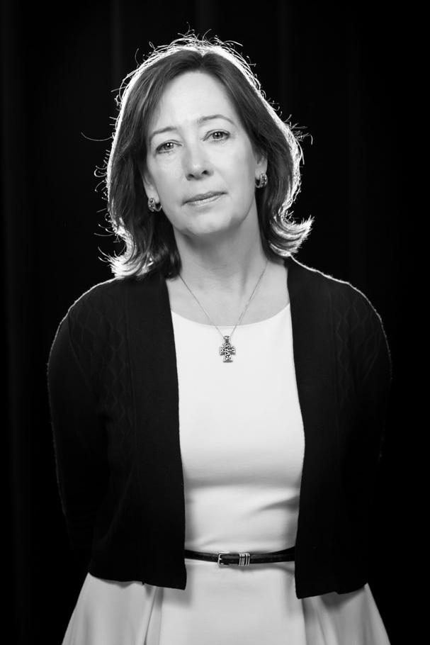 Portrait of Fuller Seminary faculty member and dean Laura Robinson Harbert for FULLER magazine