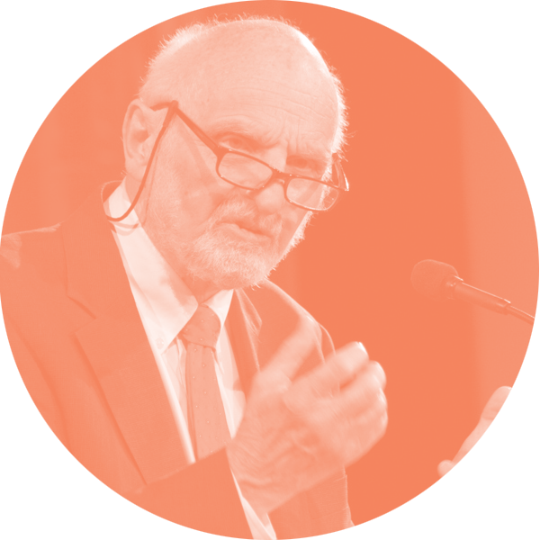 Walter Brueggemann speaking at the 2015 Fuller Forum