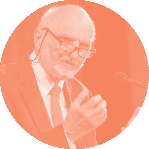 Walter Brueggemann speaking at the 2015 Fuller Forum