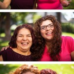 Portraits for FULLER magazine of the LaMadrids, two Fuller Seminary students and mother and daughter