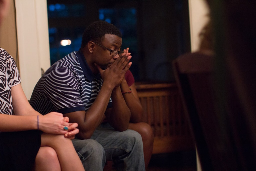 Audience reaction at FULLER's Story Table: Reconciling Race