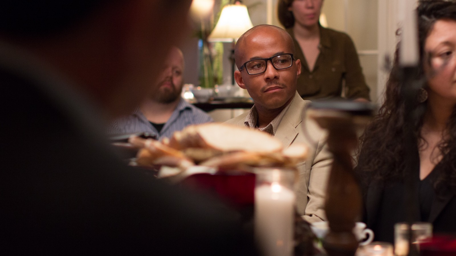 Caleb Campbell at FULLER Magazine's Story Table: Reconciling Race