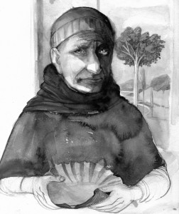 Augustine-drawing-by-D.Klitsie