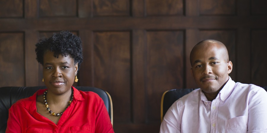 Caleb Campbell and Avril Speaks at Slessor Hall Fuller Seminary