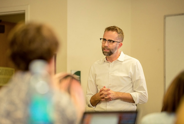 Ben Houltberg Lectures at Fuller Seminary Thrive Centry School of Psychology