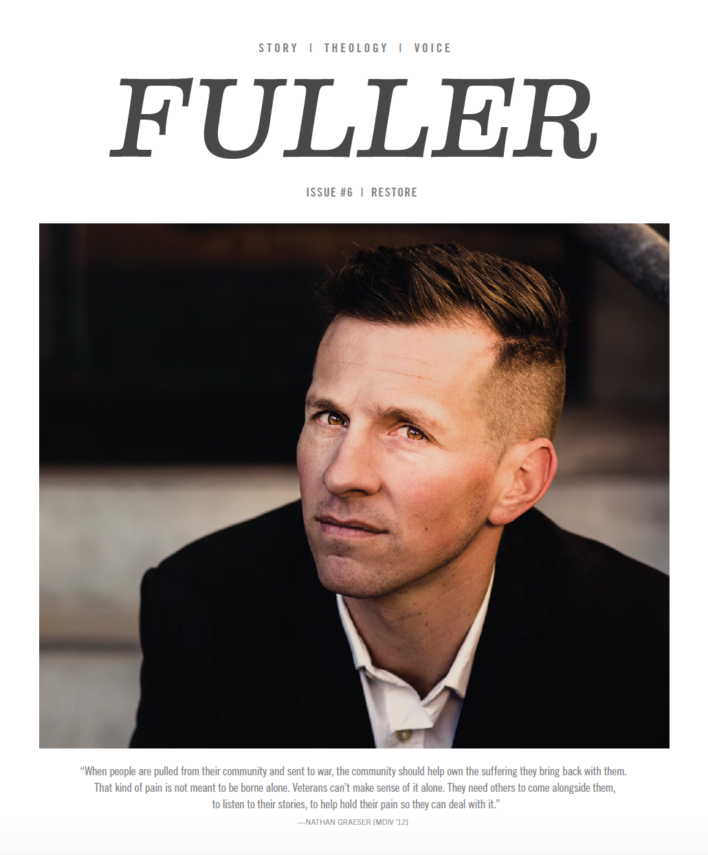 "Issue Six FULLER magazine ""Restore"""
