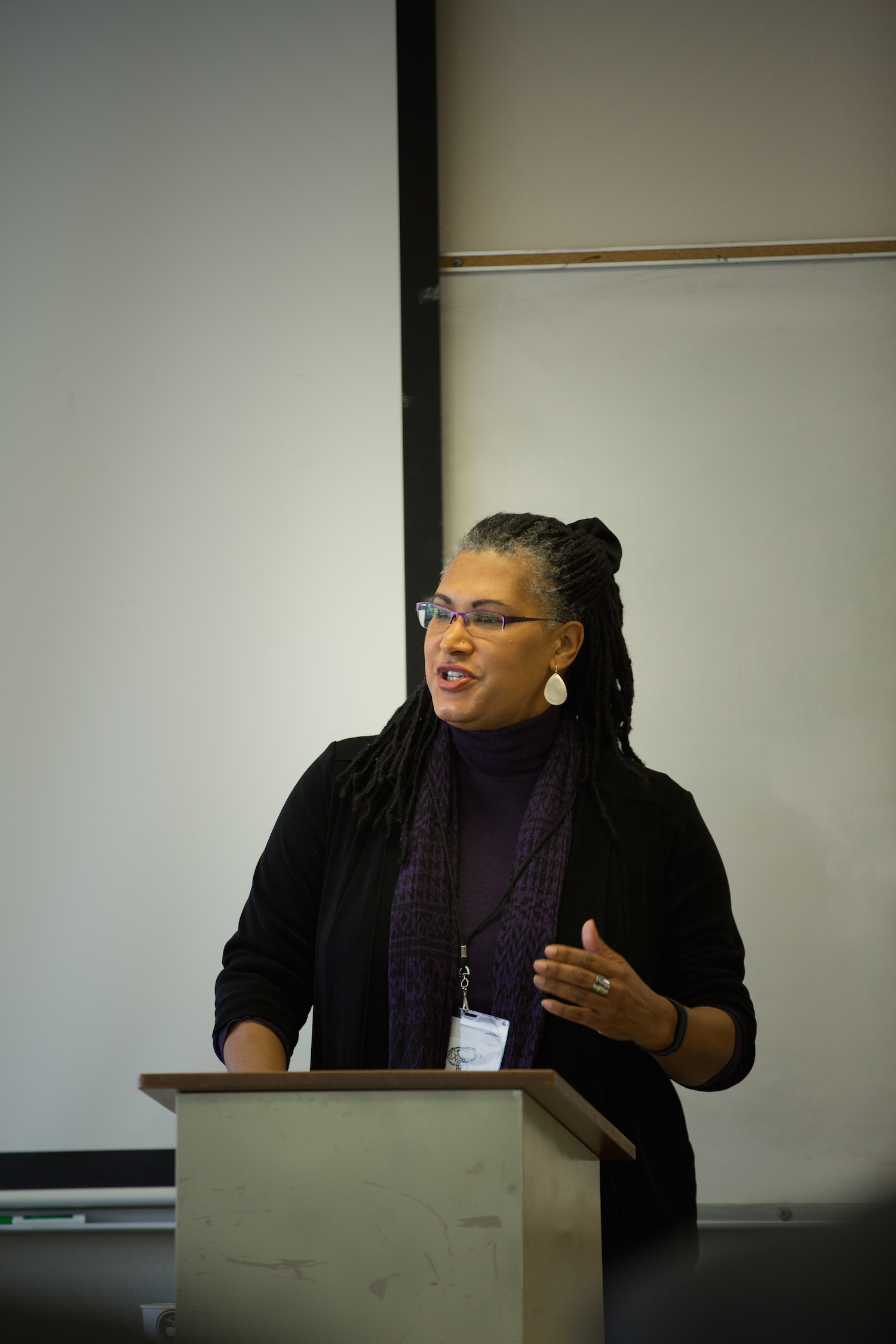 Joy Moore at the LA Theology Conference