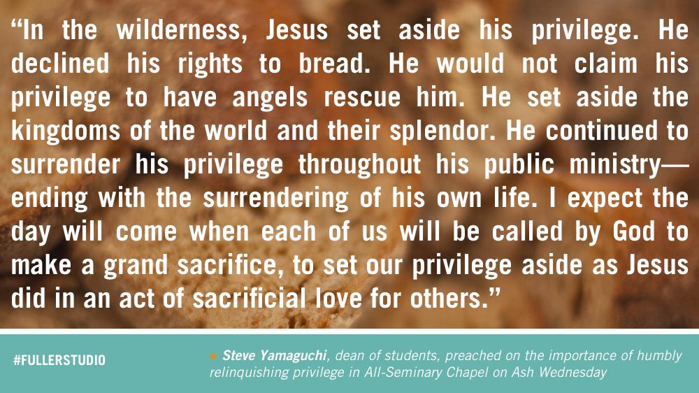 Steve Yamaguchi reflects on humility