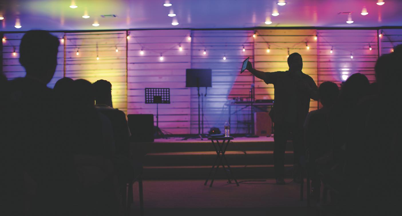 Carlos Nicasio preaching