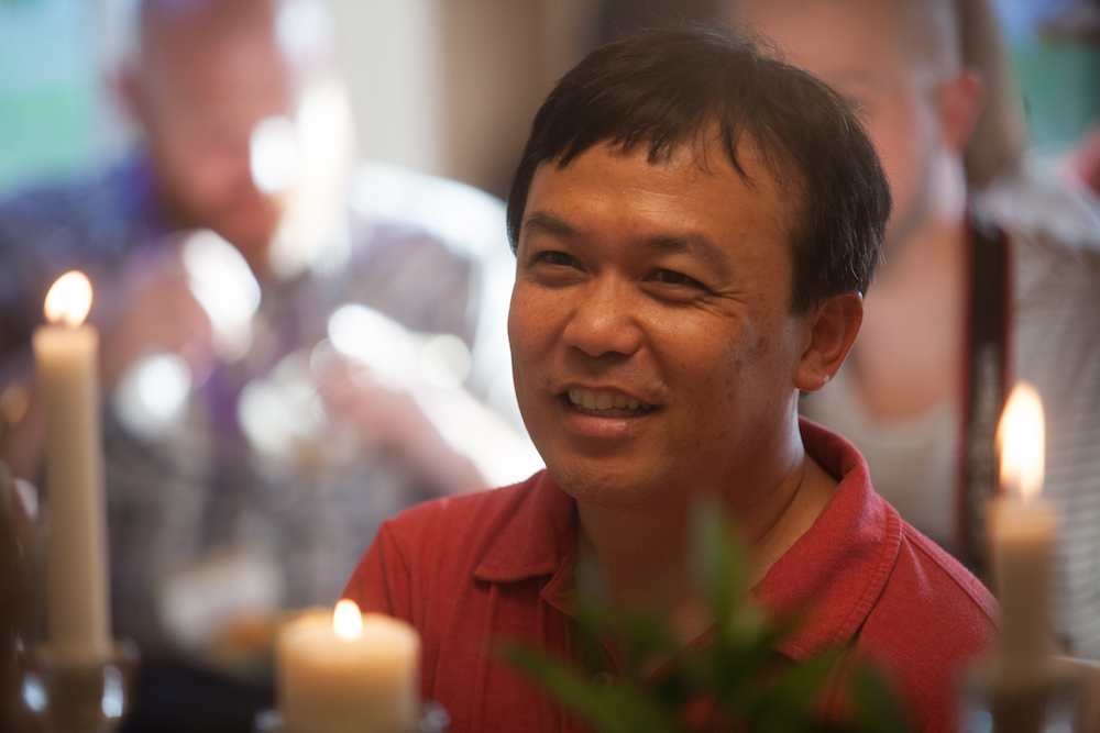 Tim Yee at the Story Table