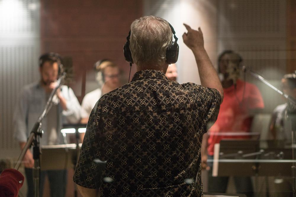 Ed Willmington recording REVERE | RESTORE