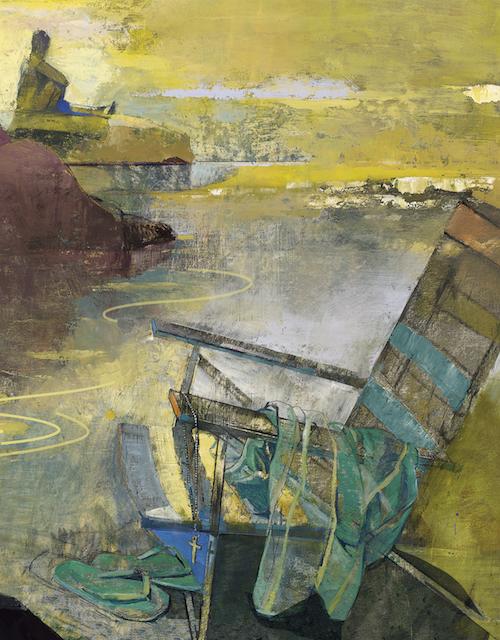 Beach Chair by Denise Klitsie