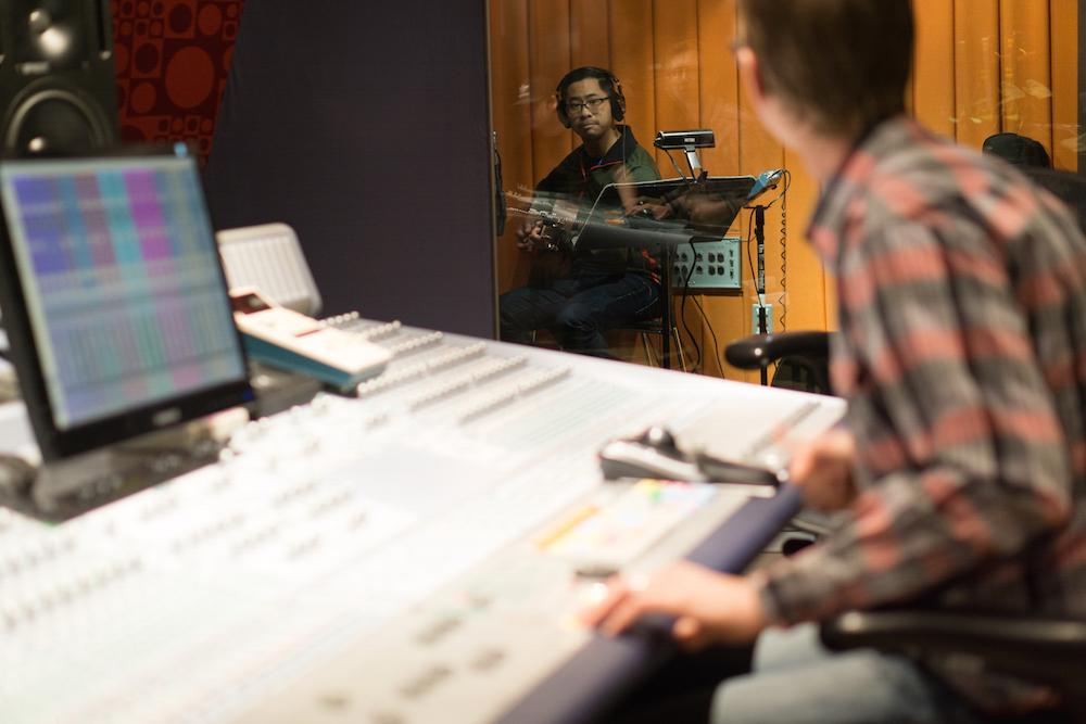Simeon Sham Recording for REVERE | RESTORE