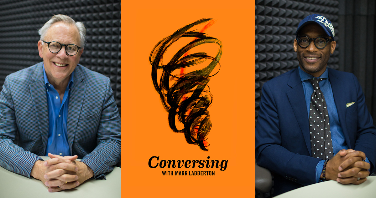 Guest Kameron Carter with Mark Labberton on Conversing