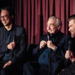 Martin Scorsese with Kutter Callaway and Mako Fujimura