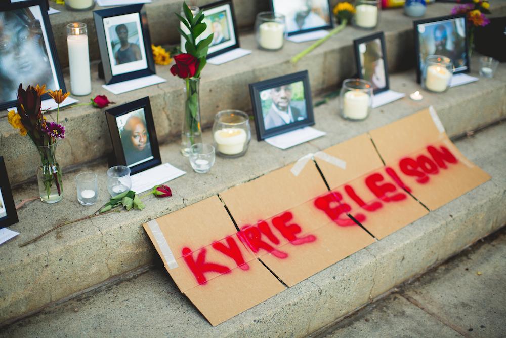 Black Lives Matter memorial