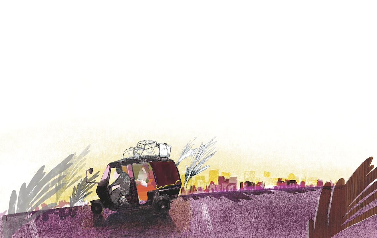 Keon Sang-An Illustration by Denise Klitsie