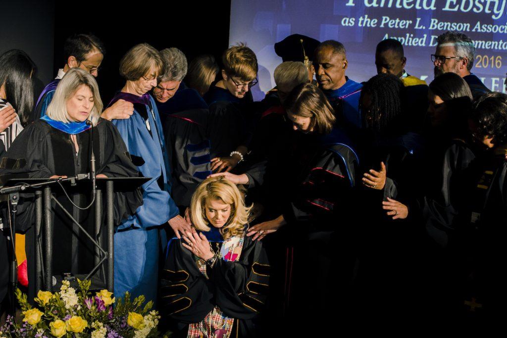 Pamela Ebsytne King Installation Prayer