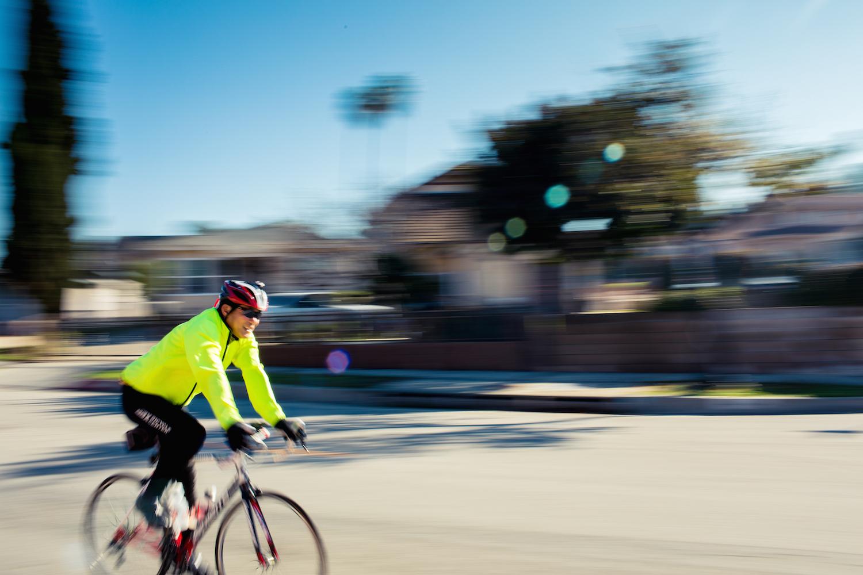 Steve Yamaguchi biking (voices on sports)